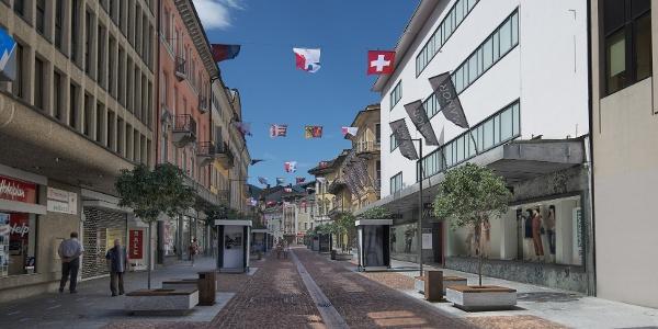 Viale Stazione, Bellinzona