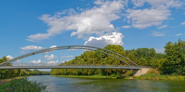 Kanalbrücke Hespe-Hiddensen