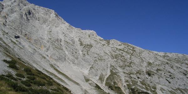 Eisengattergrat zum Gipfel