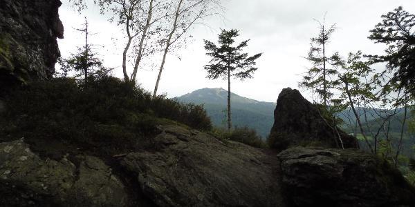 Aussicht am Hochfels