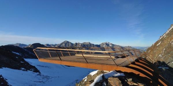 Aussichtspattform TOP OF TYROL