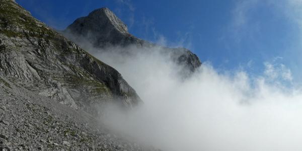 Blick auf den Großen Beilstein aus dem Schönbergkar