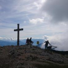 Gipfelkreuz Salzburger Hochthron