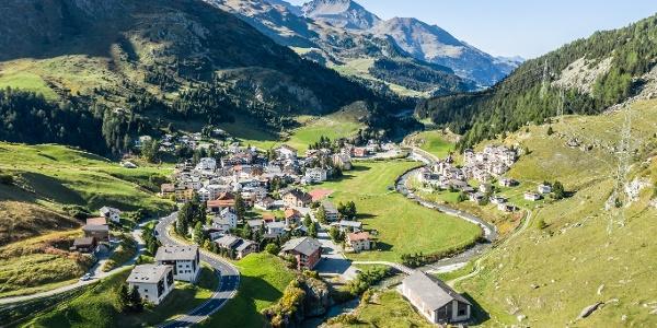 Das Dorf Bivio