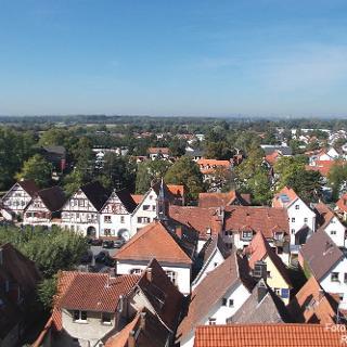 Blick auf Zwingenberg