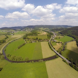 Luftaufnahme Arfeld