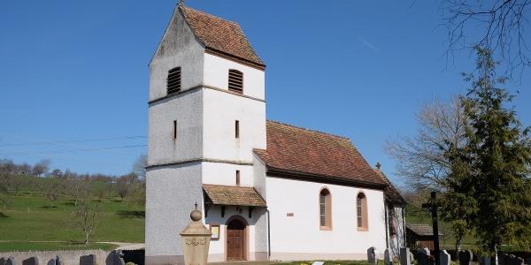 Mauritiuskapelle in Nordschwaben