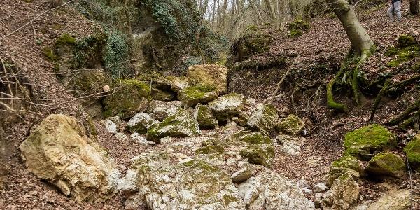 A Burok-völgy egyik szurdokszerű mellékága