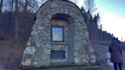 Historischer Kreuzweg zum Druidenstein