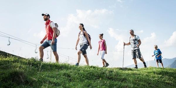 Familienwandern in Egg-Schetteregg