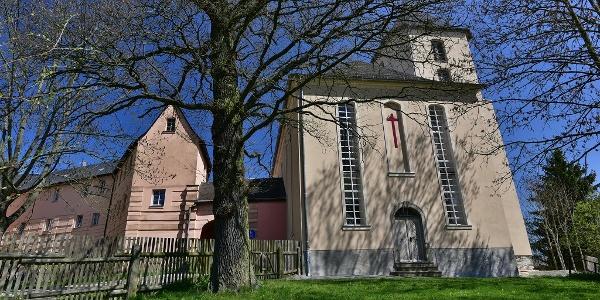 Kirche und Schloss Mühltroff