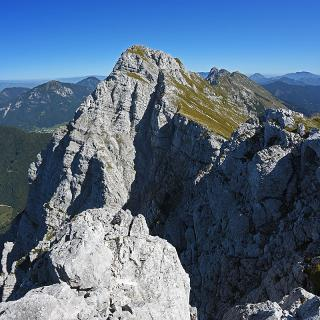 Kladivo / Hajnzturm from its W foresummit