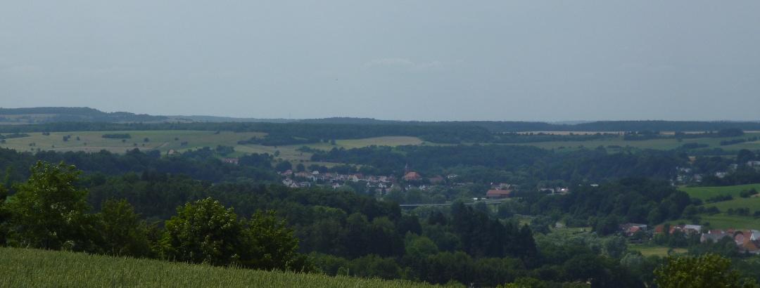 Blick über Hornbach