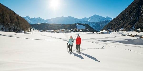 Schneeschuhwandern in Niederthai