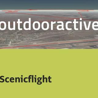 Interaktives 3D Erlebnis: Scenicflight