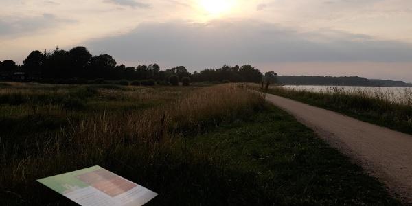 Übernachten an der Ostsee, allein dafür lohnt sich der Fördesteig.