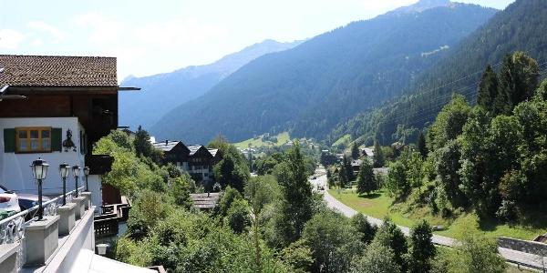 Blick zur Talstation Sommer I