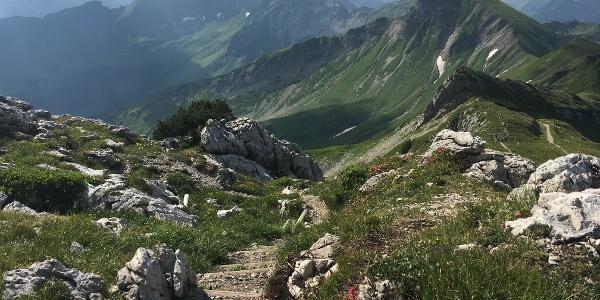 Weg auf dem Koblat-Plateau.