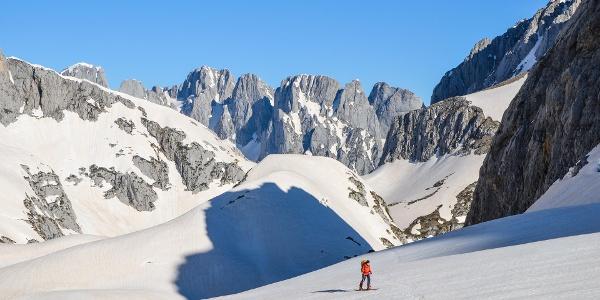 Pionier-Skitouren in Montenegro