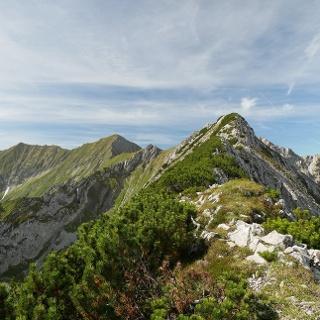 Der Brünnenkopf in den Lechtaler Alpen