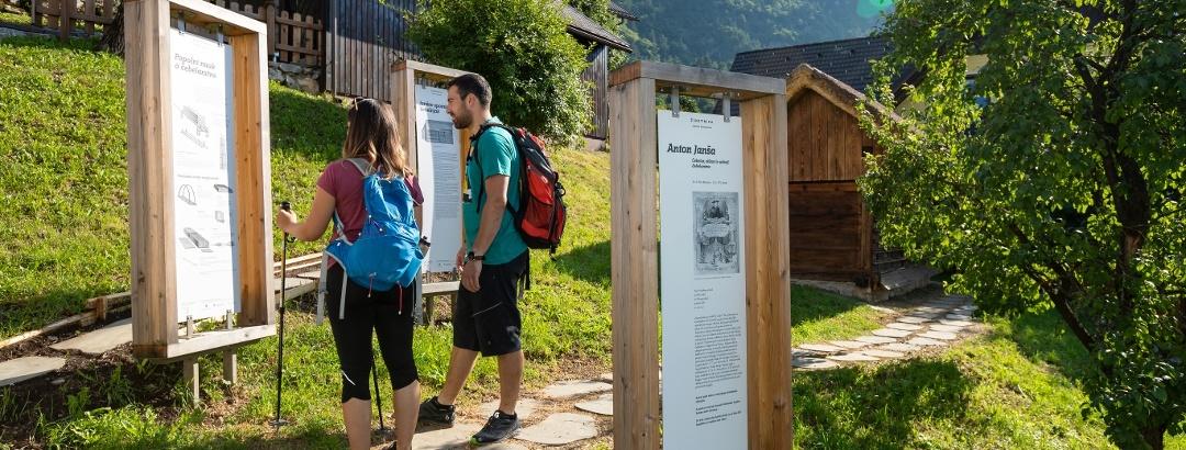 Auf dem Juliana Trail zwischen Jesenice und Begunje