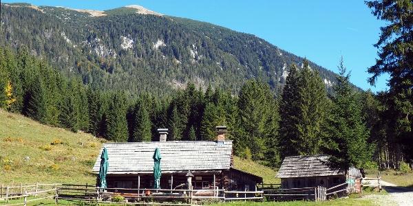 Kroisnalm mit Tamischbachturm