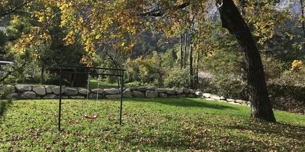 unser schöner Garten im Herbst
