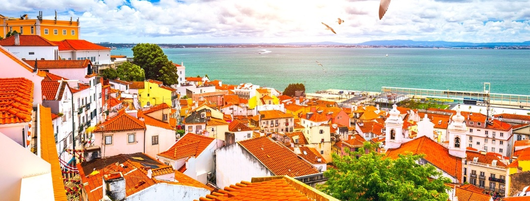 The vibrant city of Lisbon