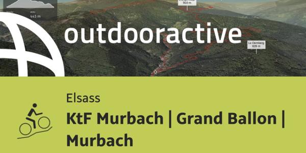 Mountainbike-tour im Elsass: KtF Murbach | Grand Ballon | Murbach