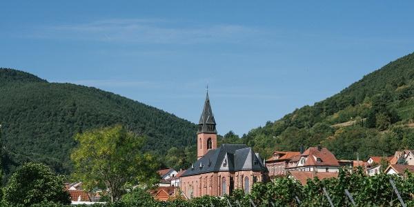 Blick auf die Kirche St. Martin