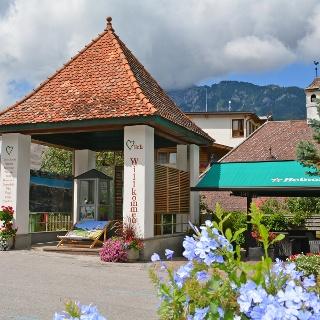 Ausgangspunkt: Infopavillon am Schlossplatz