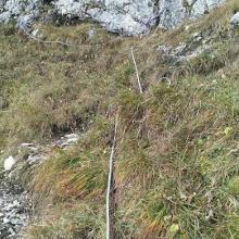 Seile und Ketten im Hirschluckensteig