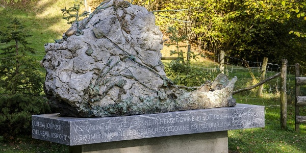 Cimitero della prima guerra mondiale, Log pod Mangartom
