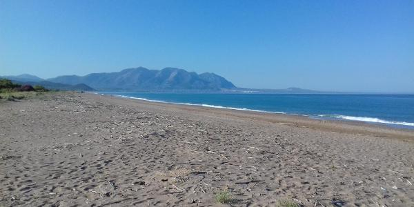 Strand Elia, Kyparissia