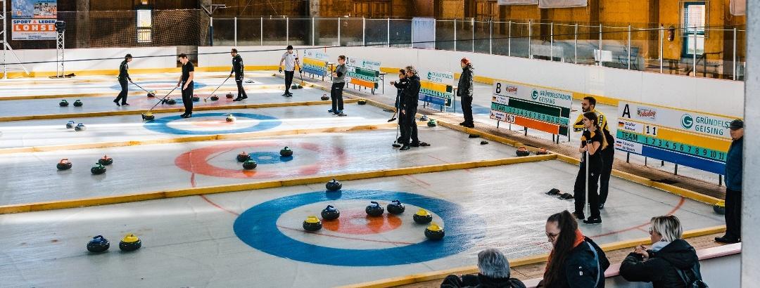 Curling Eishalle Geising