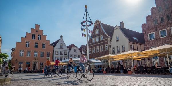 Marktplatz in Warendorf