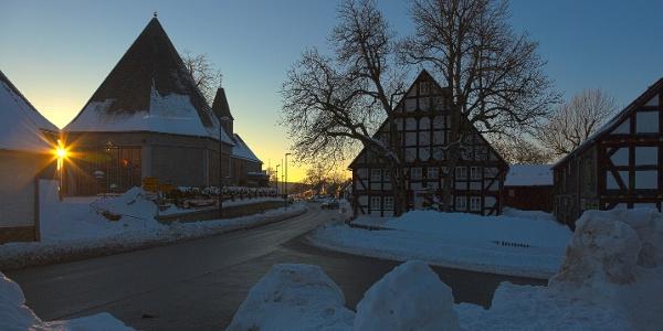 Winter in Küstelberg