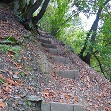 Auch ohne Klettern geht es manchmal toll bergauf