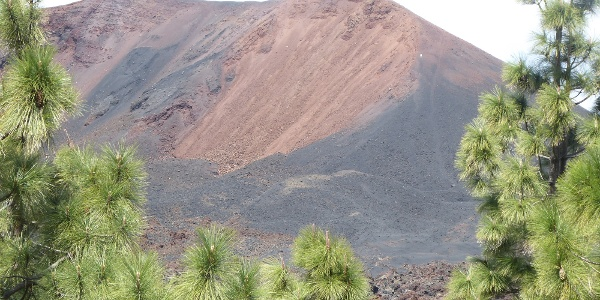 Der farbprächtige Vulkan Chinyero