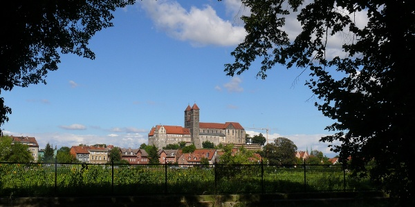 Ausblick Quedlinburg
