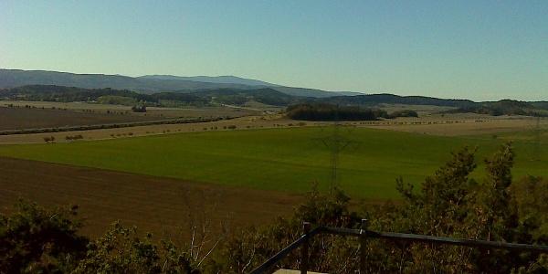 Ausblick von der Steinholzwarte