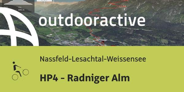 Mountainbike-tour in der Naturarena Kärnten: HP4 - Radniger Alm