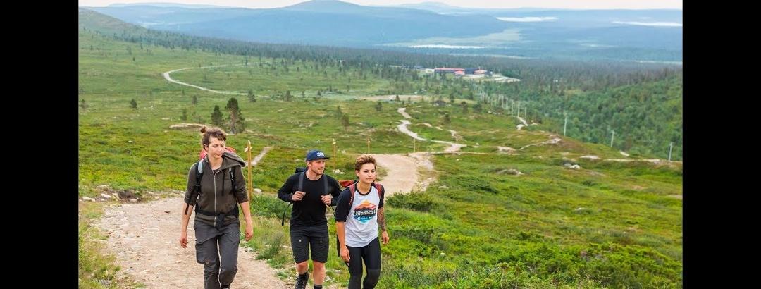 Yövaelluksella Taivaskerolle, Pallas-Yllästunturin kansallispuiston korkeimmalle huipulle