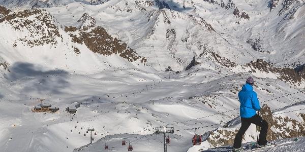 Ski area Ghiacciaio Presena