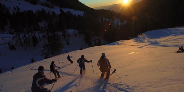 Lo Ski Center Latemar comprende le piste da sci delle località di Obereggen, Pampeago e Predazzo