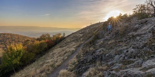 Naplemente a Kopasz-hegyen