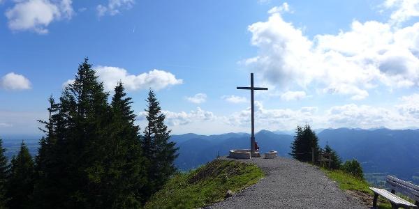 Brauneck Gipfelkreuz