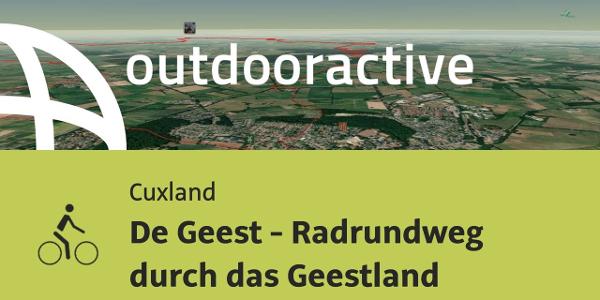 Radtour im Cuxland: De Geest - Radrundweg durch das Geestland