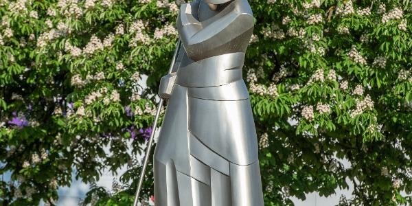 Kip železarja v krožišču