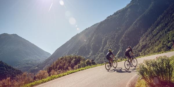 Radfahrer, Petite Forclaz